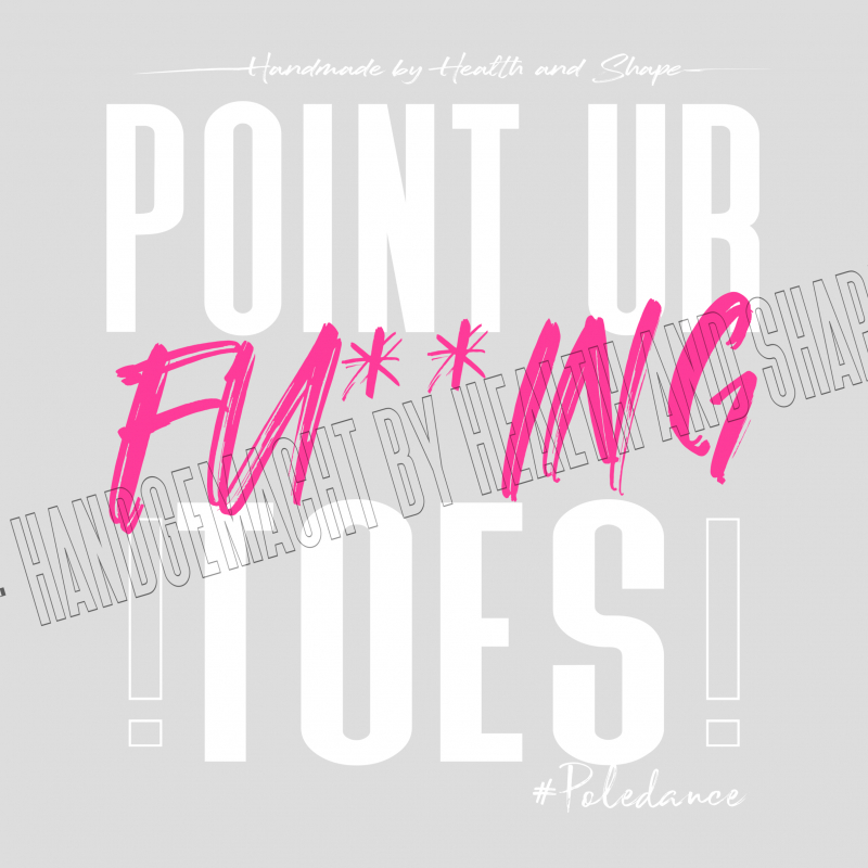 Pole Wear - Point your Toes